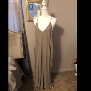 Crepe maxi dress from Nordstrom